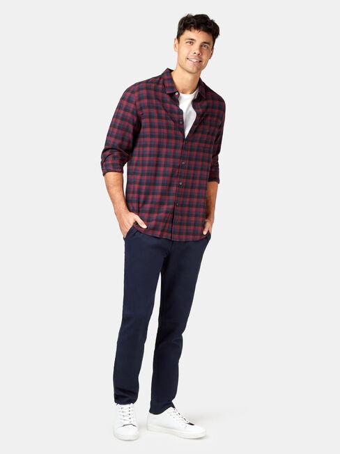 LS Harvey Check Shirt, Multi, hi-res