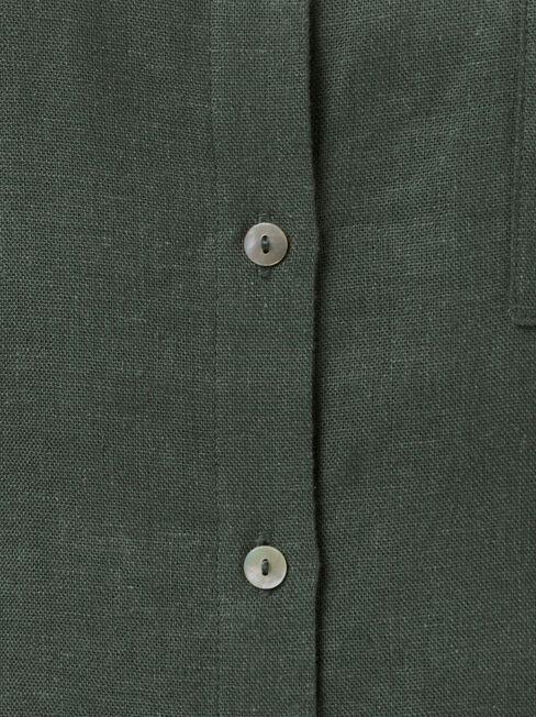 Bonnie Oversize Shirt, Green, hi-res