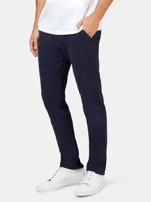 Miller Knit Chino Pant, Blue, hi-res