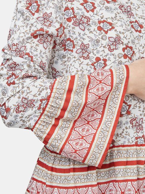 Kinsley Lace Detail Blouse, Multi, hi-res