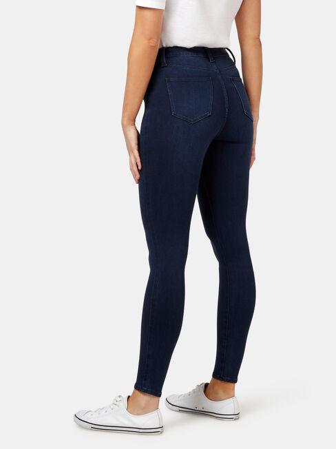 Freeform 360 Contour Skinny 7/8 Jeans, Dark Indigo, hi-res