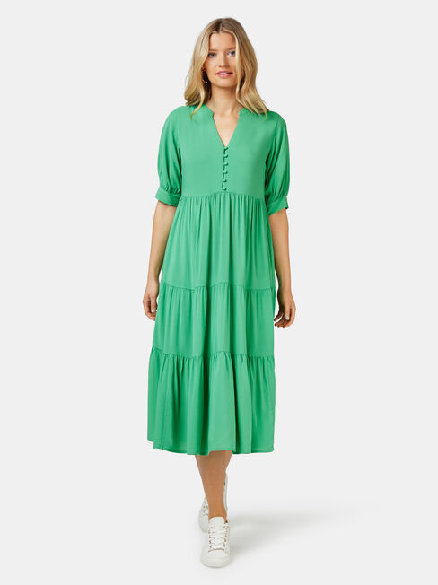 Esther Tiered Midi Dress