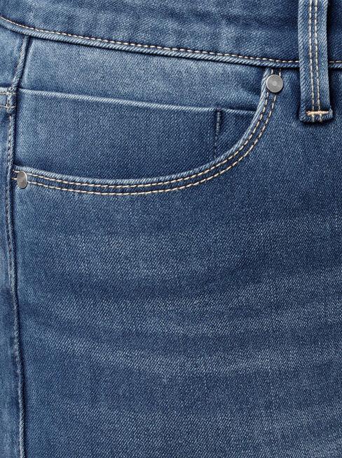 Freeform 360 Contour Curve Embracer Skinny Jeans, Mid Indigo, hi-res