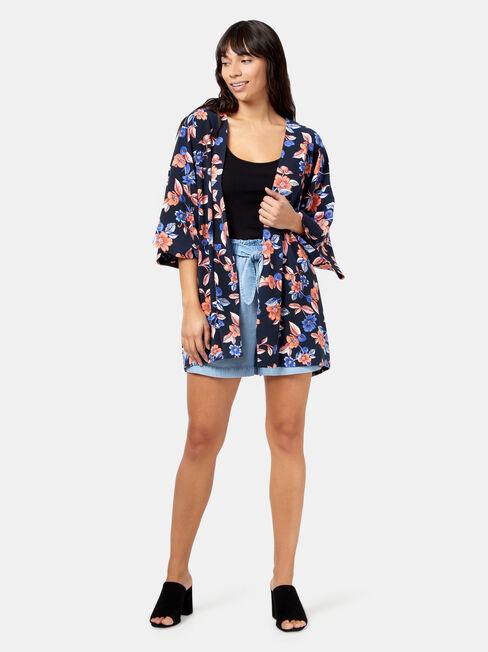 Florence Kimono, Blue, hi-res