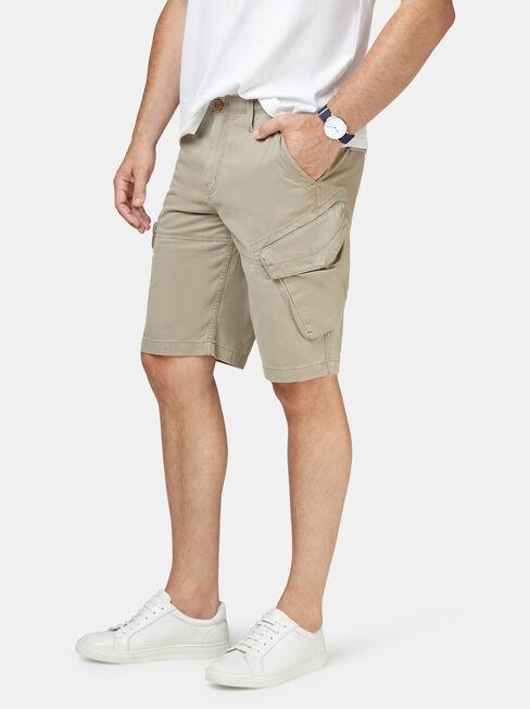 Archie Cargo Short, Grey, hi-res