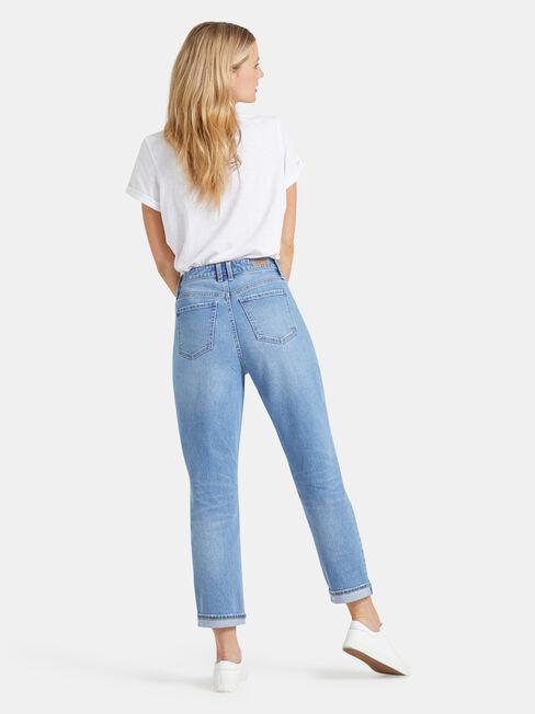Mom Jeans, No Wash, hi-res