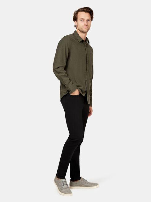 Oliver Long Sleeve Shirt, Green, hi-res