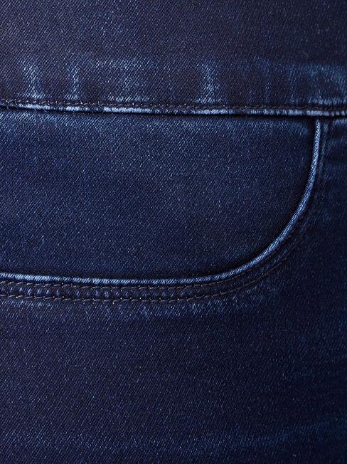 Tummy Trimmer Luxe Lounge Skinny Jeans Dark Indigo, Dark Indigo, hi-res