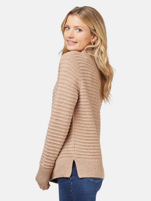 Josie Nep Pullover, Brown, hi-res