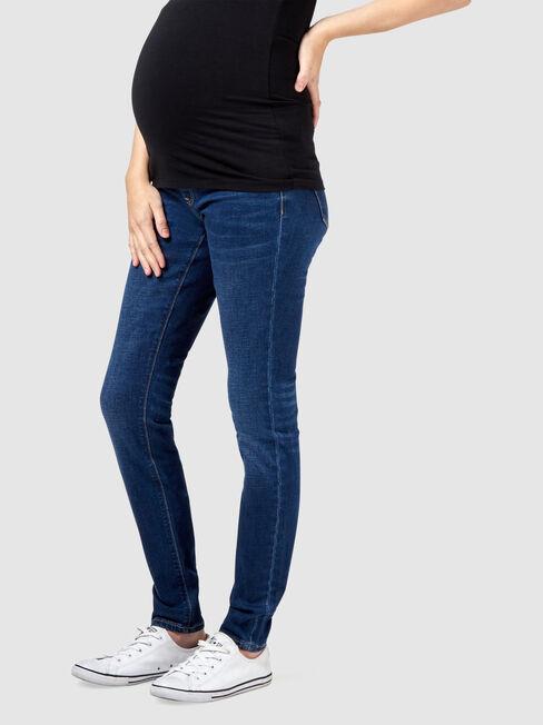 Maternity Skinny Jeans Bright Vintage
