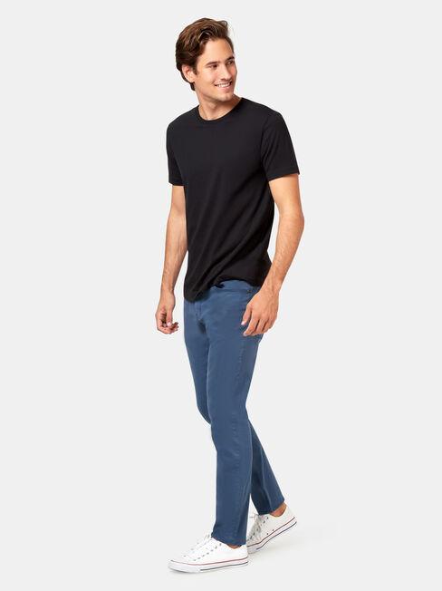 Slim Tapered Jeans Spring Blue, Coloured, hi-res