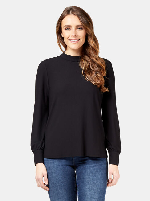 Mia High Neck Top