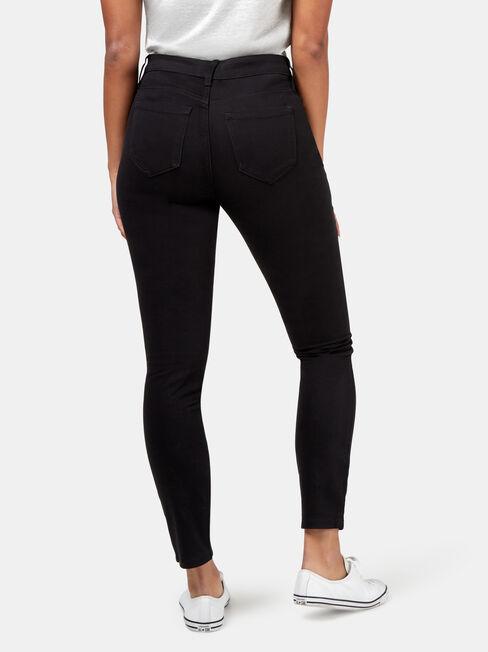 Ella Skinny Pant, Black, hi-res