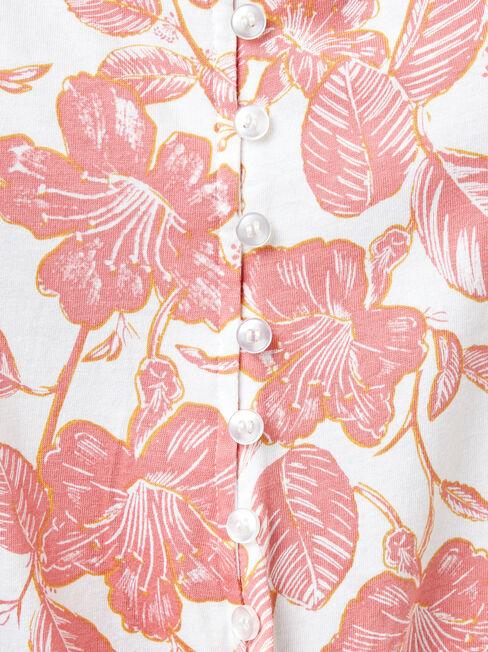 Rose Jersey Cami, Print, hi-res