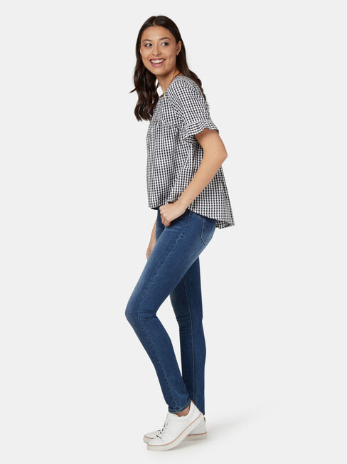 Eloise High Low Top
