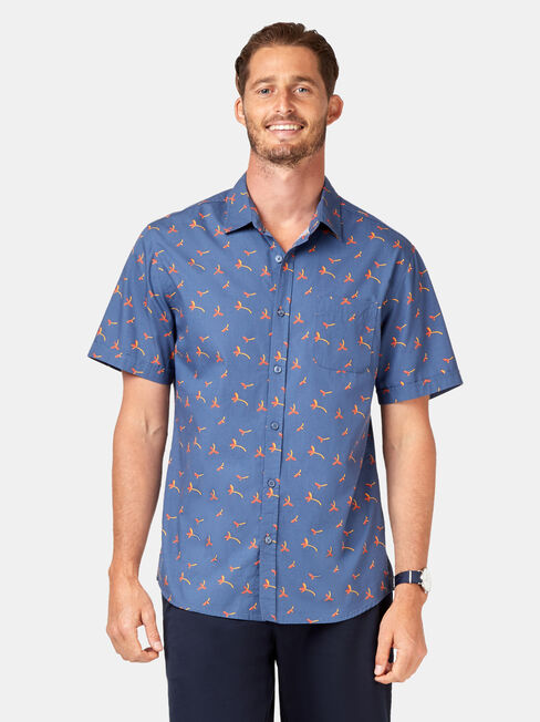 Finn Short Sleeve Print Shirt