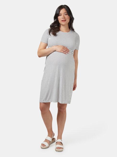 Lorna Layered Maternity Dress