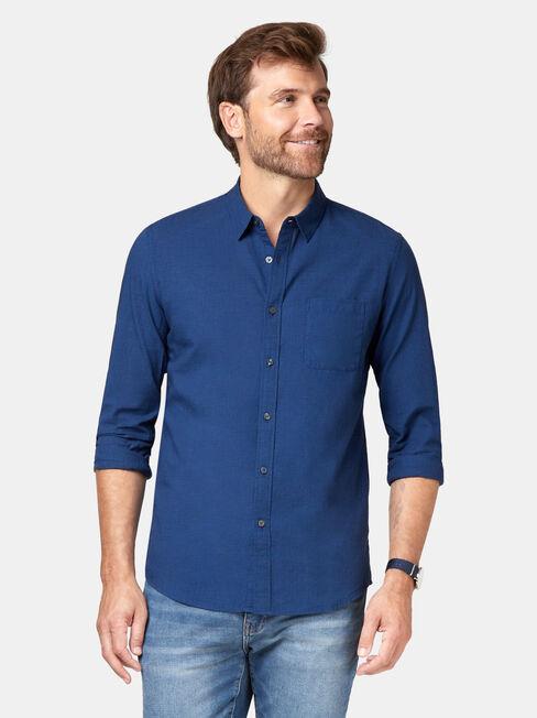 Foster Shirt, Black, hi-res