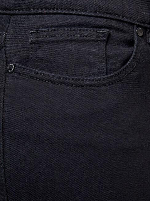 Hip Hugger Skinny Jeans Black Night, Black, hi-res