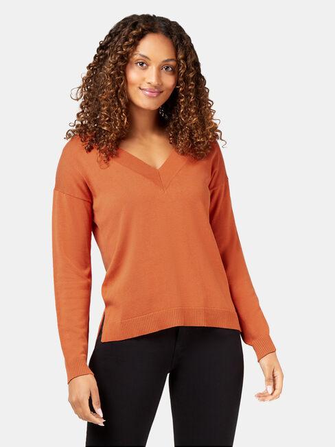 Vivienne V-Neck Pullover