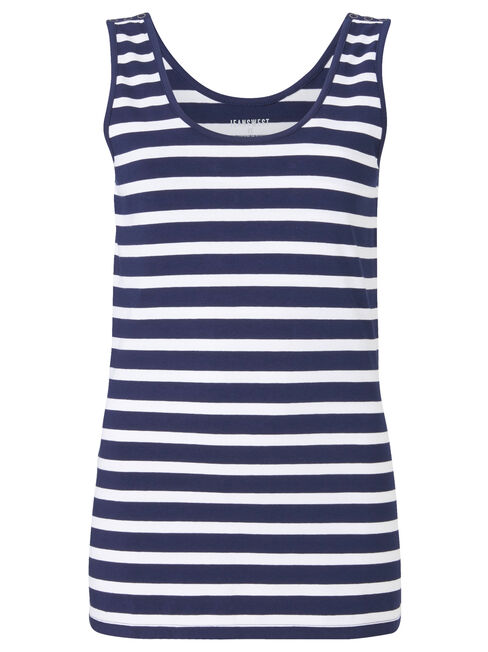 Post Maternity Nursing Tank, Stripe, hi-res