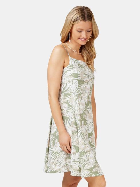 Eden Cami Dress, Green, hi-res