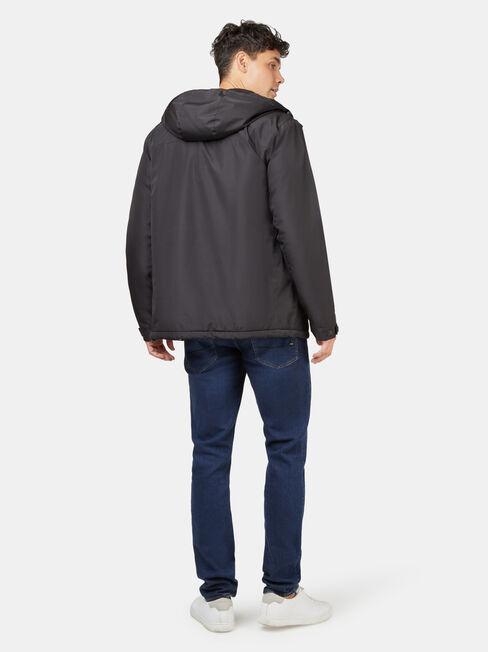 Dion Shell Jacket, Black, hi-res