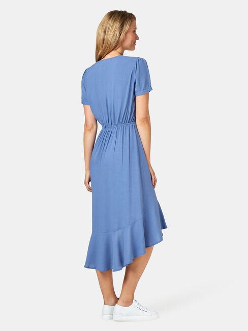 Sadie Concave Dress, Blue, hi-res