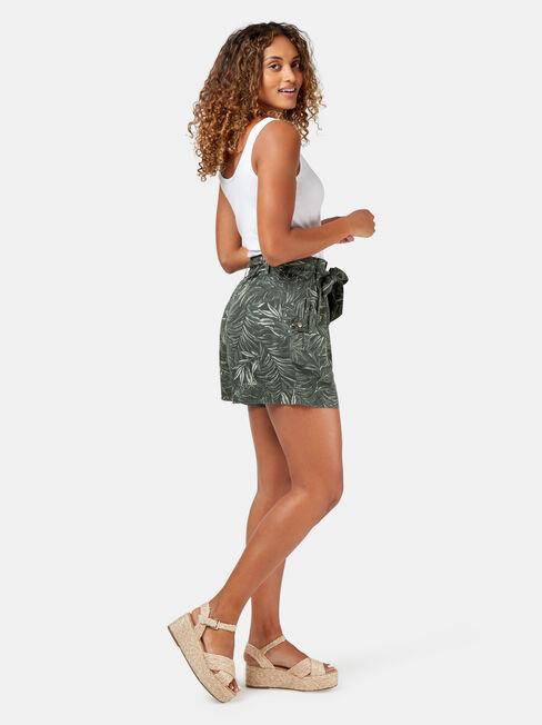 Nova Paperbag Short, Print, hi-res