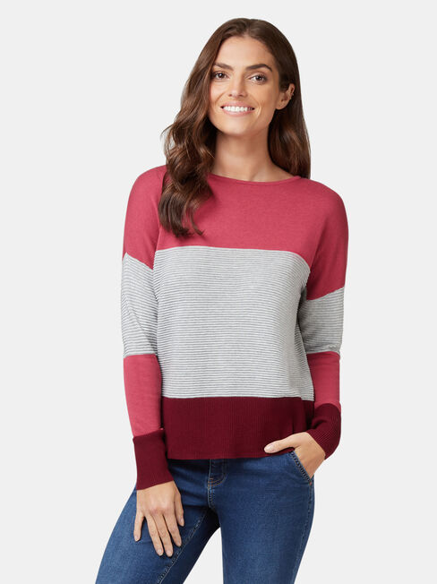 Chloe Colour Block Knit