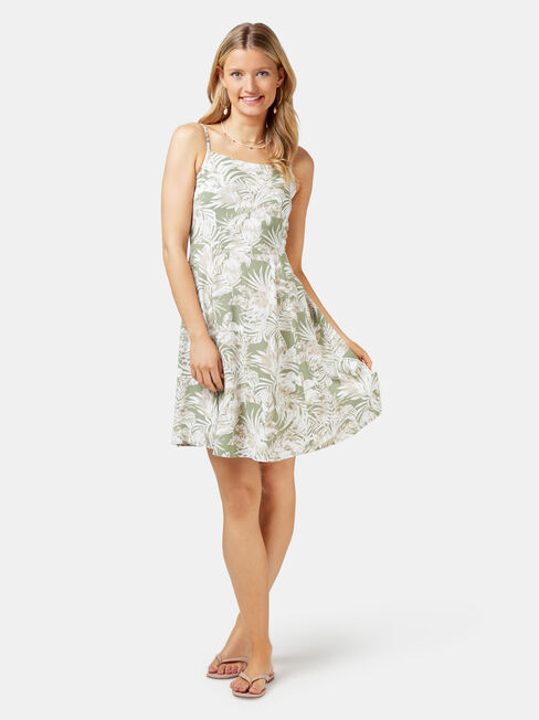 Eden Cami Dress, Green, hi-res