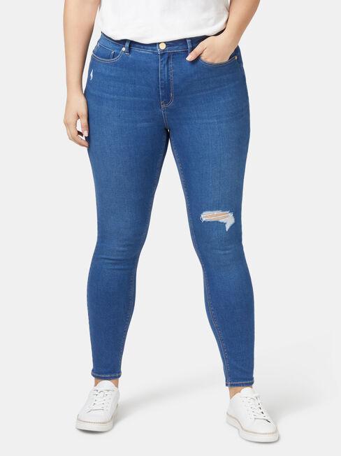Valerie Curve Embracer Skinny 7/8 Jeans