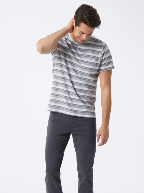 Slim Straight jeans Navy, Coloured, hi-res