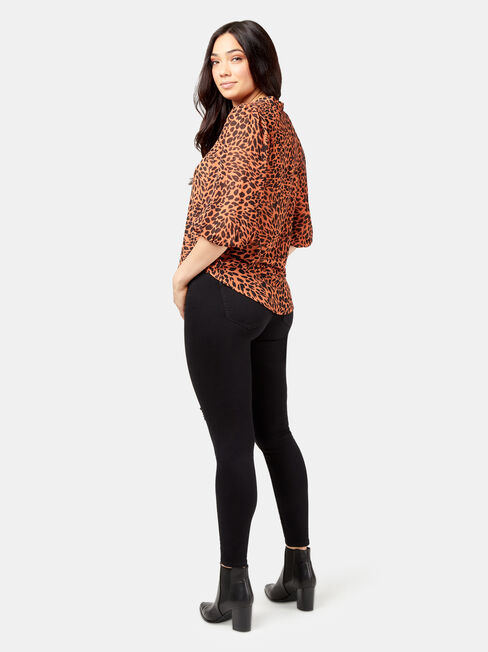 Mimi Soft Shirt, Brown, hi-res