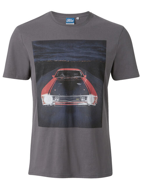 SS Ford 2 Crew Tee, Grey, hi-res