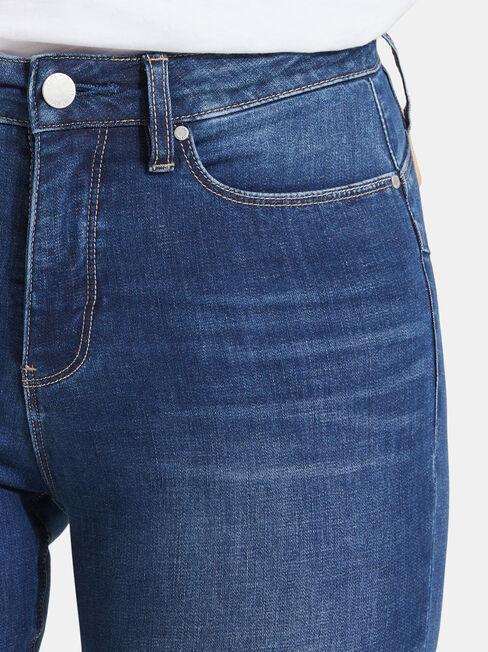 Curve Butt Lifter Skinny Jeans, Mid Indigo, hi-res