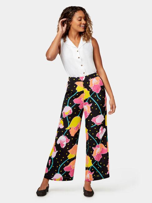 Bahati Printed Pant, Print, hi-res