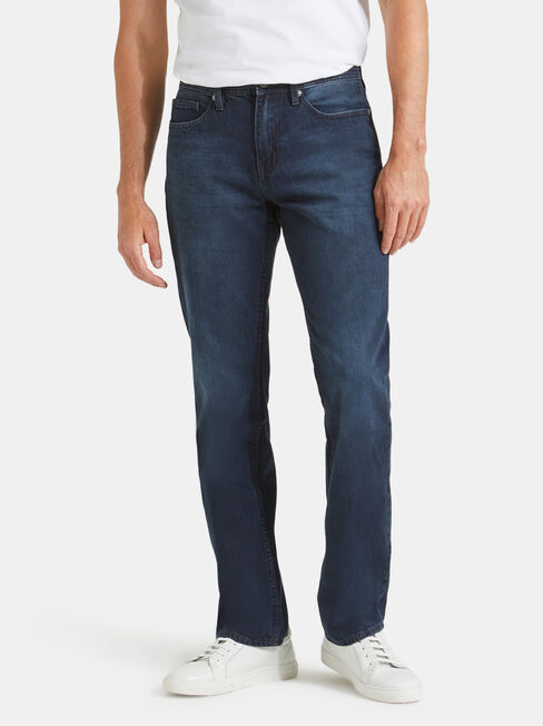 Straight Leg Jeans Indigo Shadow