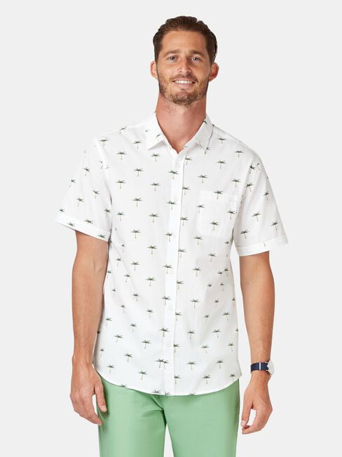 Palms Short Sleeve Print Shirt