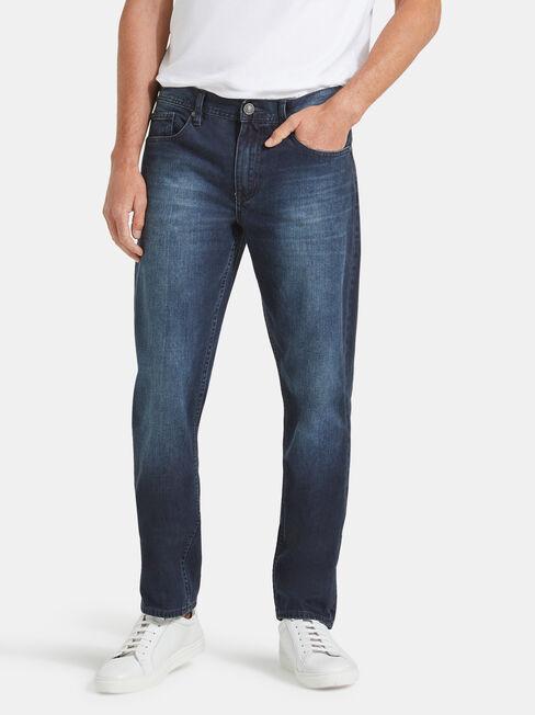 Slim Straight Jeans Storm Indigo