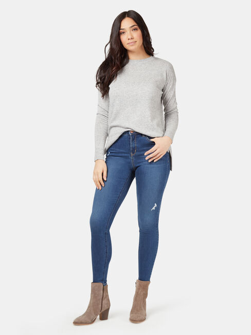 Reese Pullover, Grey, hi-res