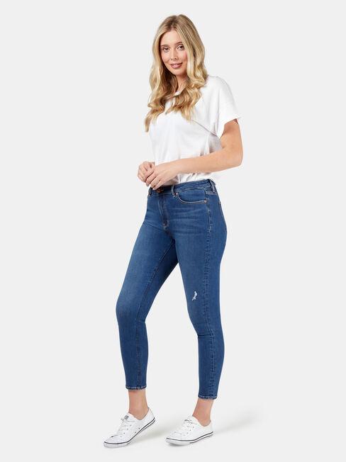 Olivia Curve Embracer Skinny 7/8th, Mid Indigo, hi-res