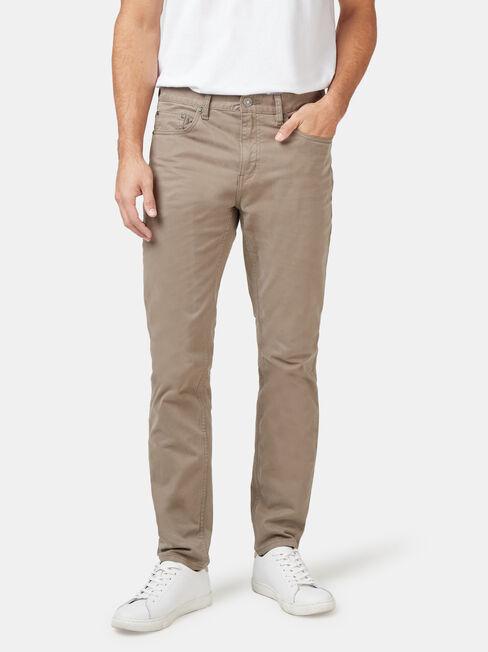 Slim Tapered Jeans Dark Olive