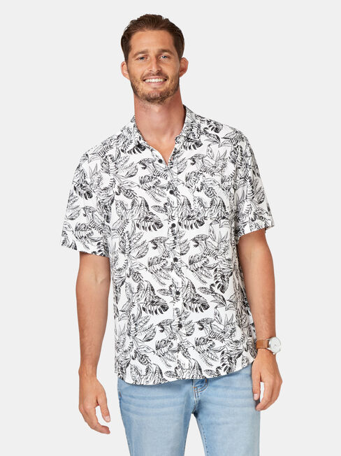 Enzo Short Sleeve Print Shirt