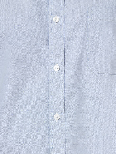LS Heston Oxford Shirt, Blue, hi-res