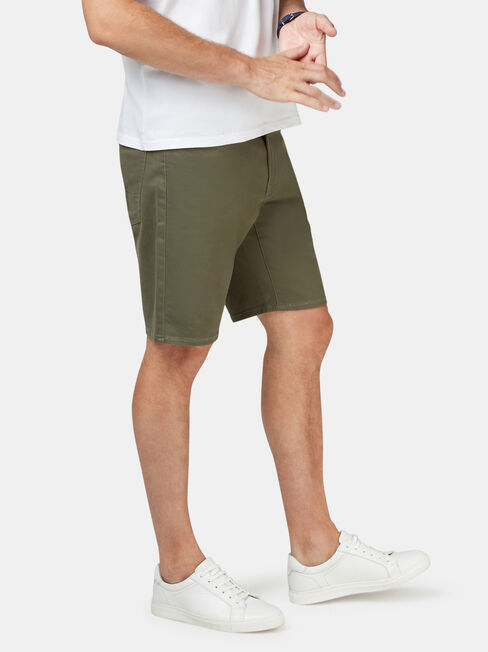 Oscar 5 Pocket Short, Green, hi-res