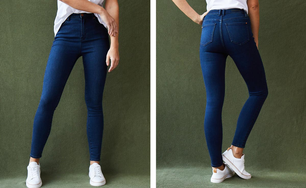 Shop Feather Touch Jeans